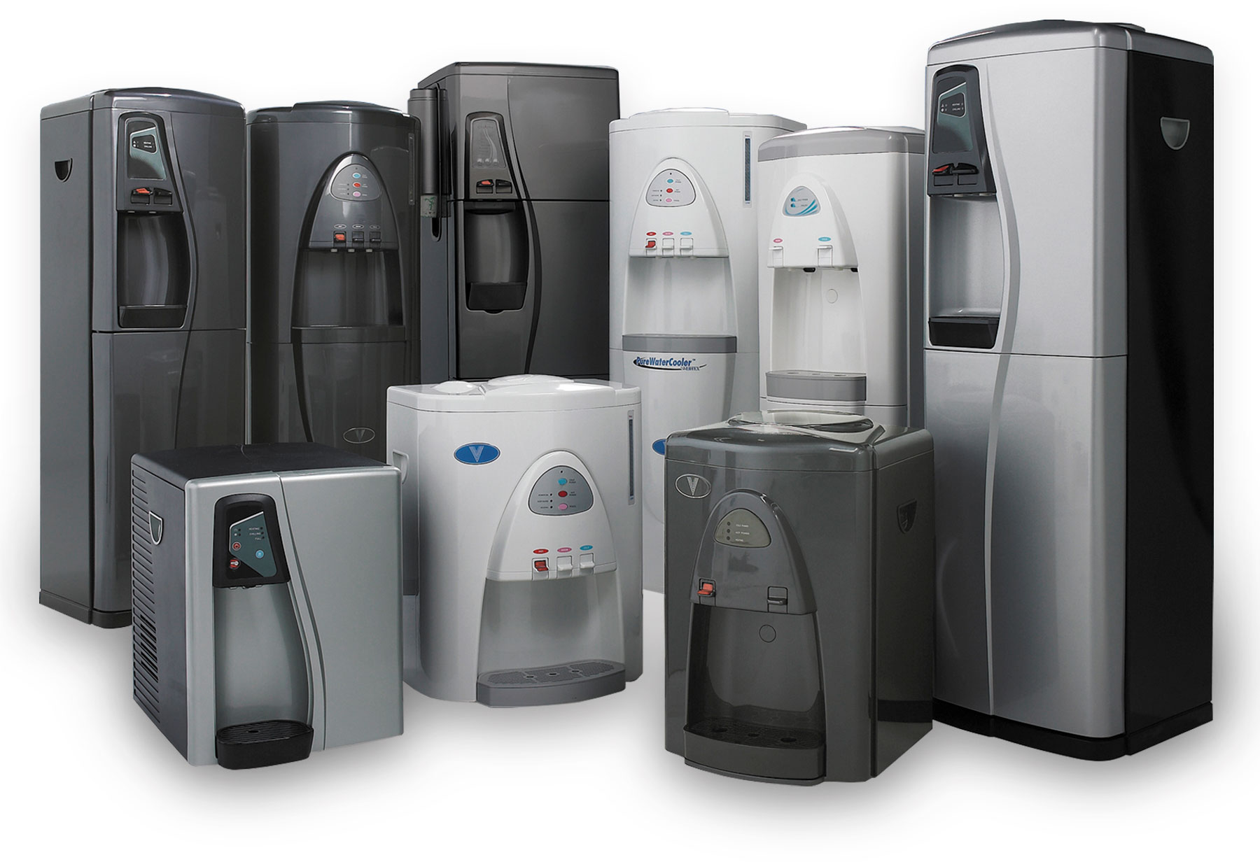 Vertex bottle-less water coolers